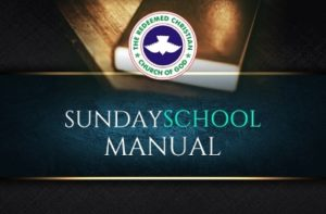 RCCG Sunday School TEACHER'S Manual 2 June 2019 Lesson 40 – Finger Of God